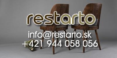 Restarto - Kreslá a stoličky z minulého storočia v novom vzhľade